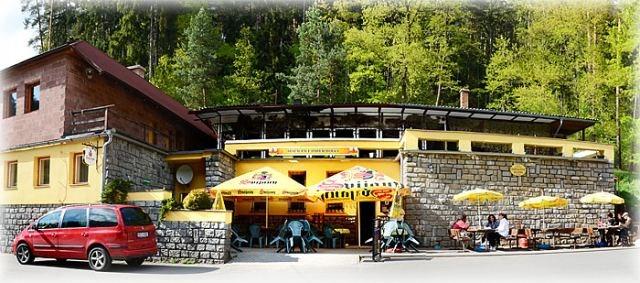 Luznice, lesni restaurace Harrachovka
