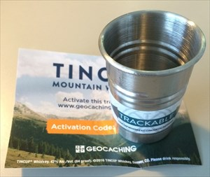 TINCUP Whiskey Trackable