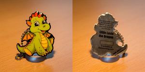True Metal Tag - Little Laslo the Dragon