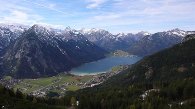 Blick auf den Achensee und das Karwendel
