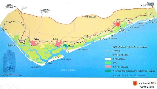 Parque Natural da Ria Formosa