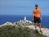 Der Krtek mit dem Coin vor dem Cap Formentor
