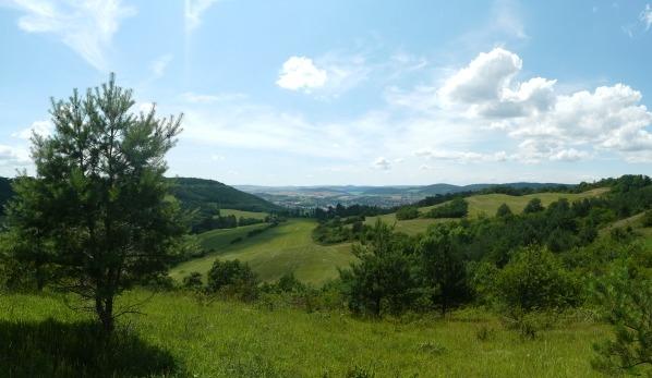 Výhled na západ