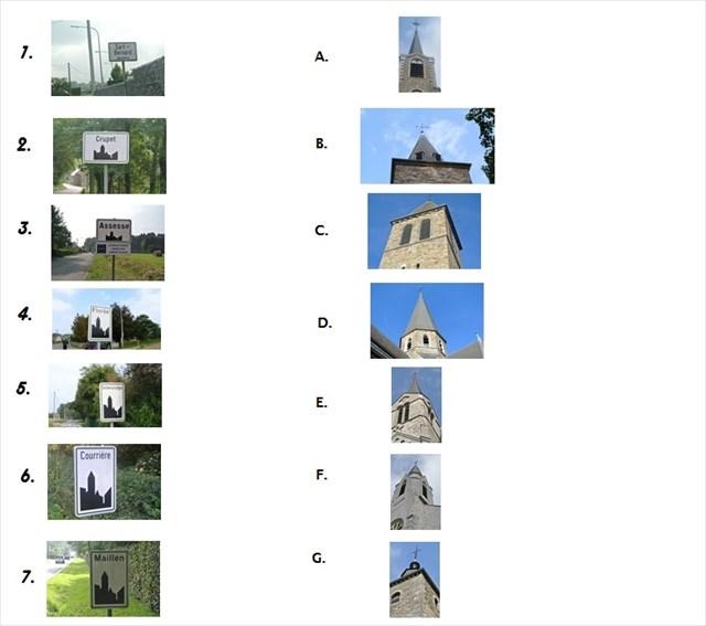 Les églises de Assesse