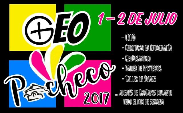 Logo de GeoPacheco 2017