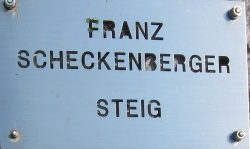 Franz Scheckenberger Steig
