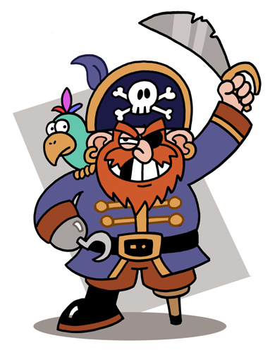 Piratenbild