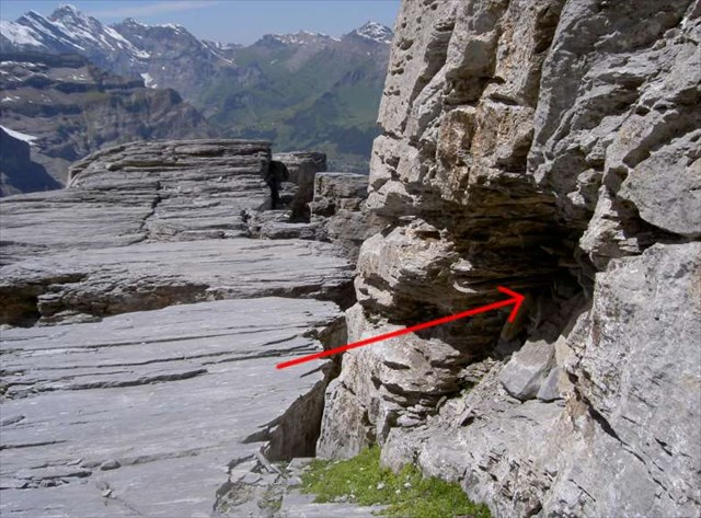 Klettersteig Rotstock : Gc14ea8 eiger feeling 1 traditional cache in bern switzerland
