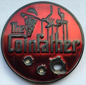 LordT's Coinfather Geocoin - Front