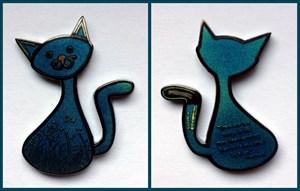 CacheCat Geocoin - Mysterious Cat