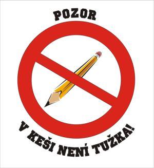 V keši není tužka!!!