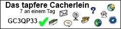 Das tapfere Cacherlein Challenge-Cache