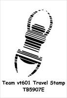 Team vt601 Travel Stamp