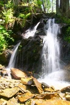 Vodopád pod Sedlem