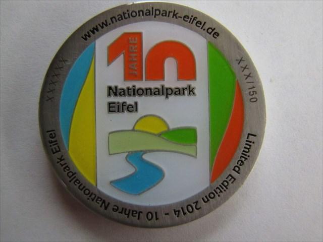 EventCoin - 10 Jahre Nationalpark Eifel - Antiksilber - Vorderseite