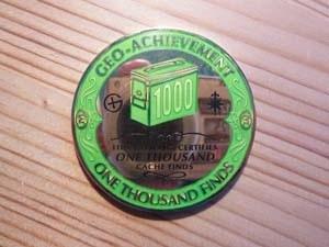 Geo-Achievement Finds 1,000 Geocoin
