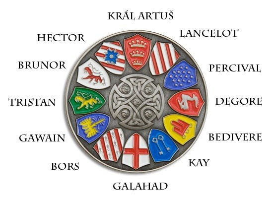Tb4nyn1 Knights Of The Round Table Geocoin Knights Of The Round Table