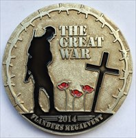 LordT's The Great War Mega Event Geocoin - Front
