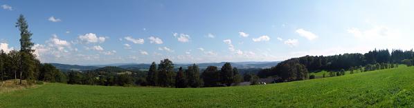 Výhled směrem ke Svatoboru