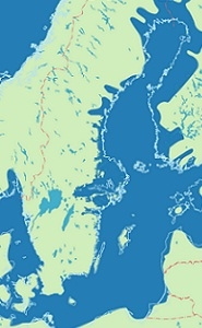 Mälaren ca 5 000 f.kr.
