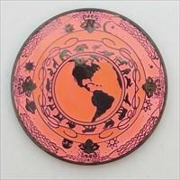 Tranquility Geocoin - Glow In The Dark (Pink) fr