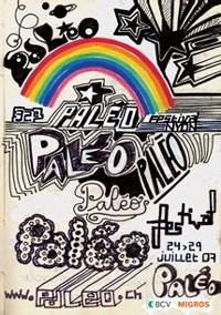 Paleo 2007 Festival Plaket
