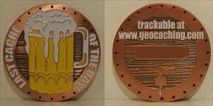 August 2006 Geocoin Club Geocoin