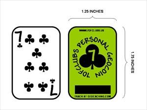 7ofclubs Personal Geocoin JPG