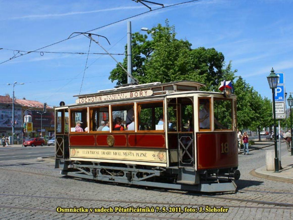 plzeňská tramvaj č.18