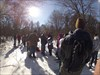 """Click to view """"Snowshoeing and Caching 2-3-13 060"""