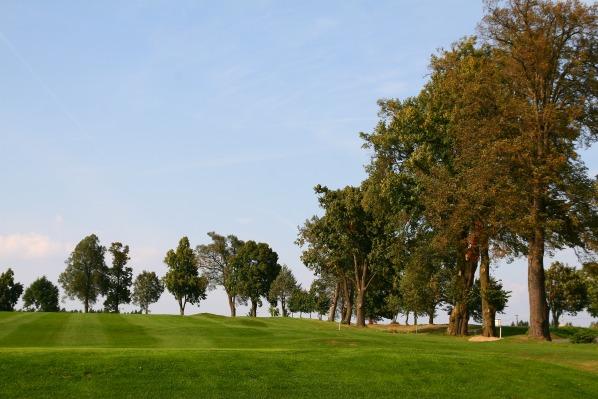 Alej za golfovým hřištěm