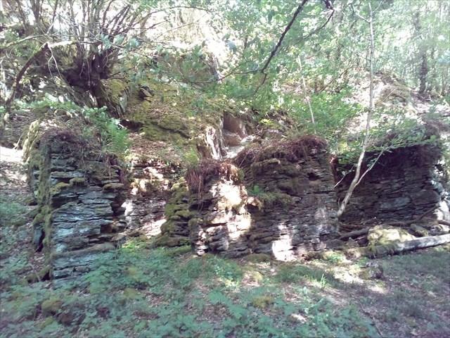 Ruine Waldecker Mühle im Baybachtal