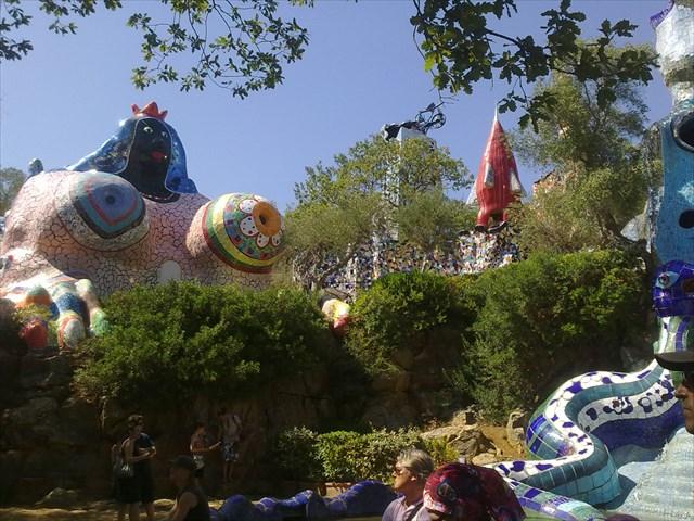 Gc3w76n Tarot Garden Niki De St Phalle Traditional Cache In Toscana Italy Created By Markborn