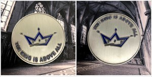 The King Is Above All - Geocoin XLE 25
