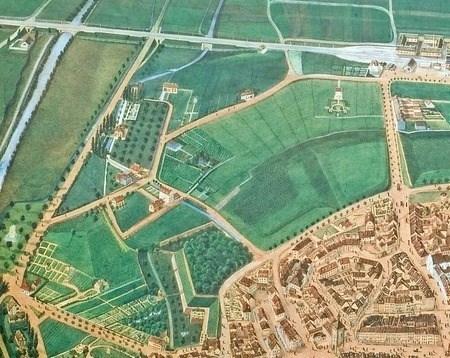 Im Grün auf dem Lerchplan 1852