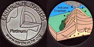 Klaerle's Platinum EarthCache Master Geocoin