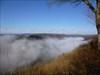 Nebel im Lahntal
