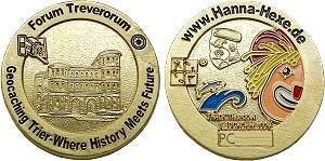Forum Treverorum: Hanna Charity Geocoin