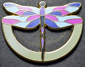 Dragonfly Dasher Geocoin