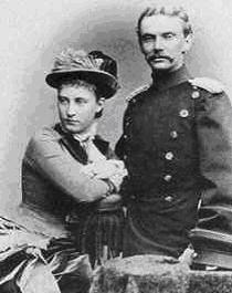 Bernhard III. und Erbprinzessin Charlotte