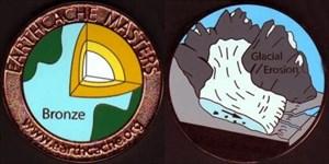 Klaerle's Bronze EarthCache Master Geocoin