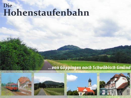 Hohenstaufenbahn von Göppingen nach Schwäbisch Gmünd, Titelbild