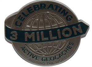3 millions géocaches