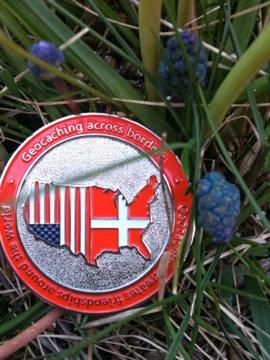 Geocoin Across Borders Geocoin