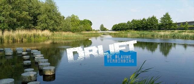 Blauwe Verbinding ~ Drijft (Splashmob)
