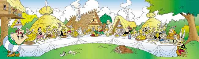 Een Gallisch feestmaal