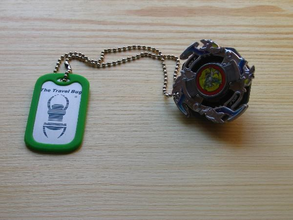 (TB2184K) Travel Bug Dog Tag - Beyblade Wolborg
