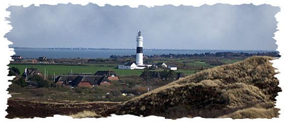 Leuchtturm bei Kampen auf Sylt
