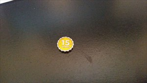 front of coin!