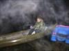Beweisfoto mit Boot